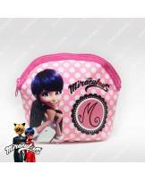 Zipper Purse (Pink) - Miraculous Ladybug