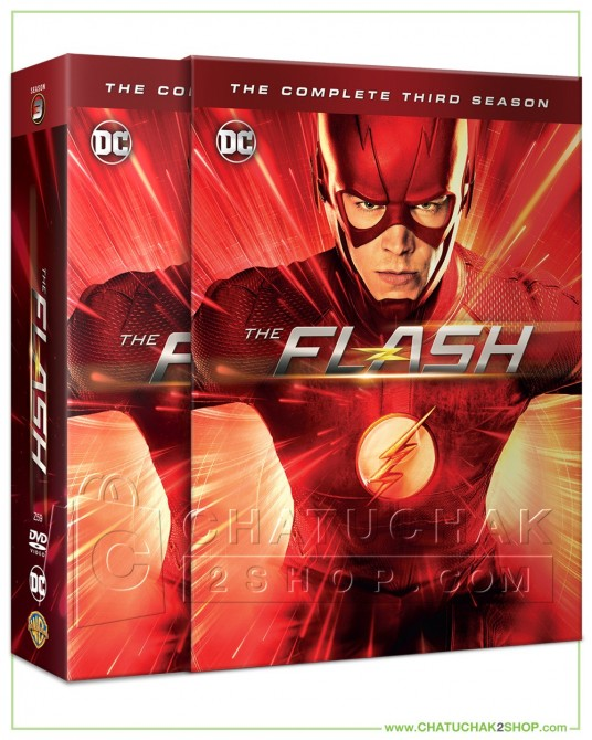 The Flash : The Complete 3rd Season DVD Series (6 discs)