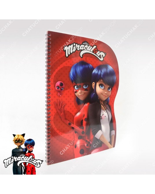 Shaped Notebook A4 - Miraculous Ladybug