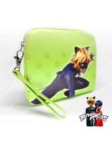 กระเป๋าสตางค์ กระเป๋าเงิน กระเป๋าใส่ของกระจุกกระจิก ลายการ์ตูน เลดี้บัค (สีเขียว)