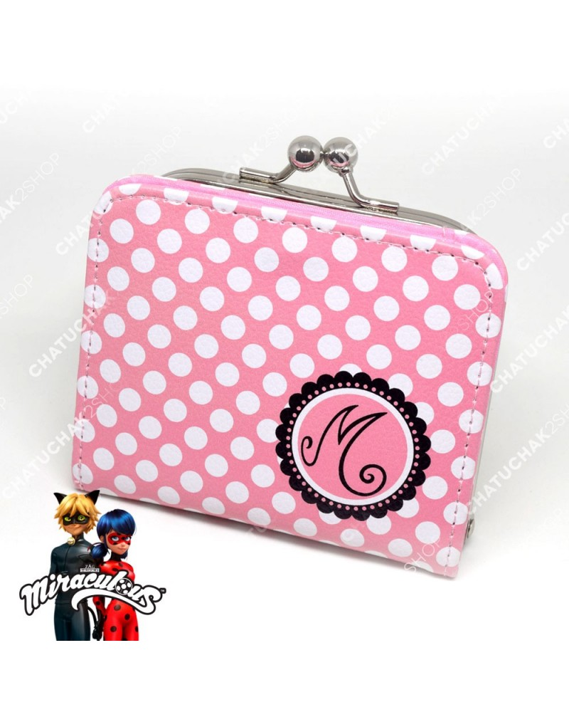 Coin Purse Wallet (Pink) - Miraculous Ladybug