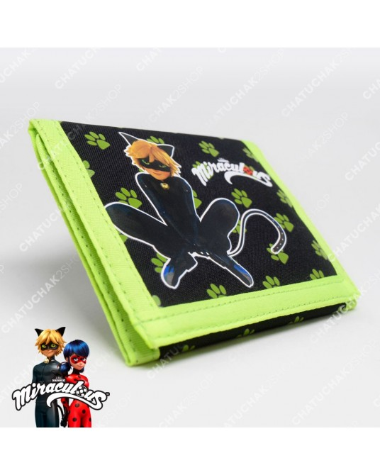 Small Wallet (Green) - Miraculous Ladybug