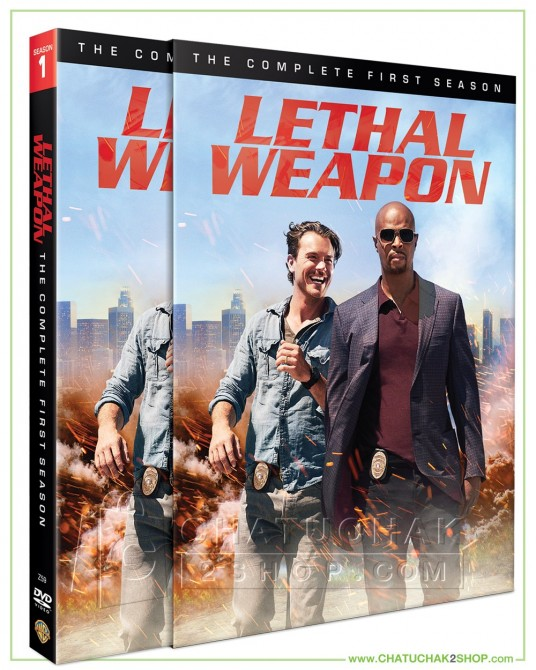 Lethal Weapon: The Complete First Season DVD Series (4 discs)