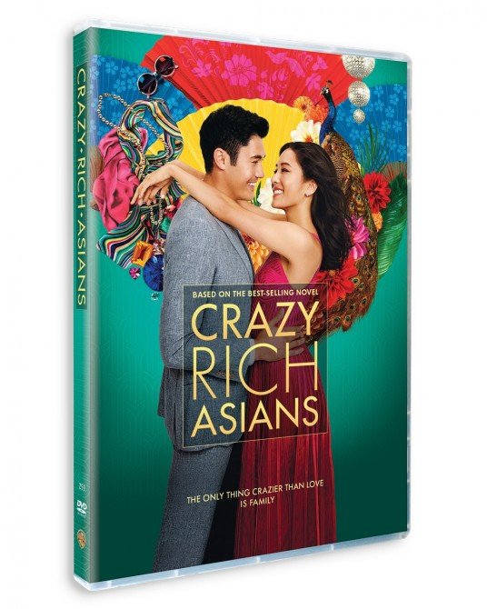 Crazy Rich Asians DVD (SE)