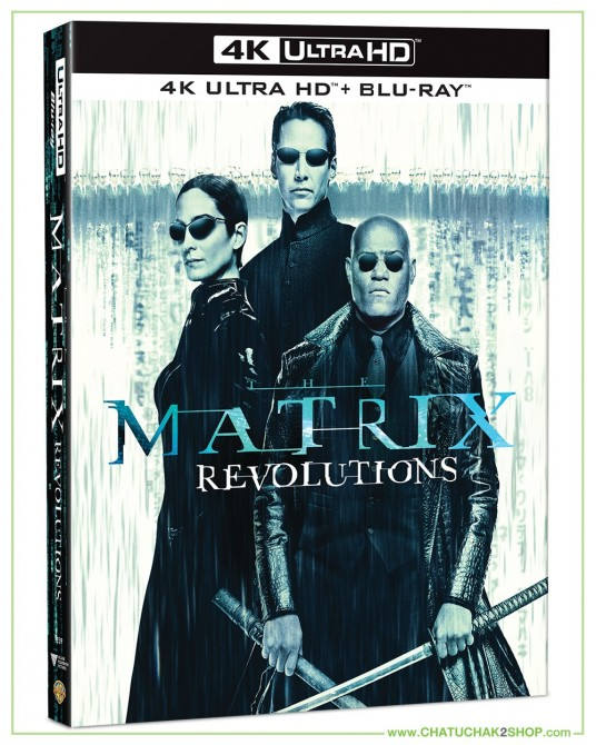 The Matrix Revolutions (4K Ultra HD includes Blu-ray 2D)