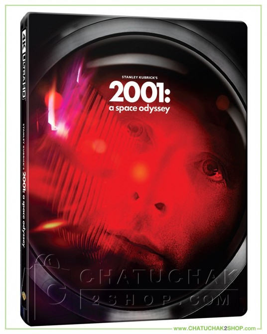 2001: A Space Odyssey 4K Ultra HD Steelbook includes Blu-ray 2D