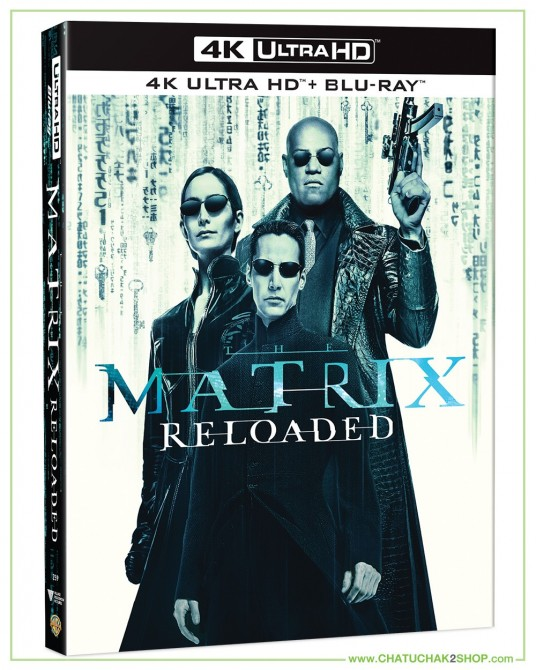 The Matrix Reloaded (4K Ultra HD includes Blu-ray 2D)