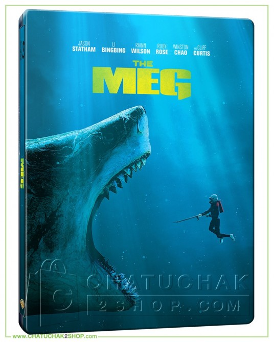 The MEG Blu-ray Steelbook Includes 2D & 3D