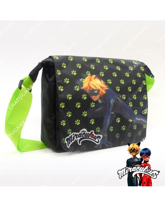 Shoulder Bag (Black) - Miraculous Ladybug