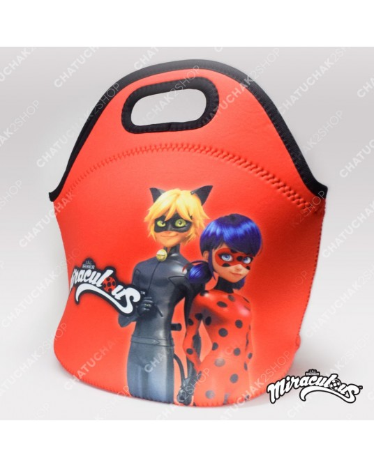 Neoprene Bag (Red) - Miraculous Ladybug