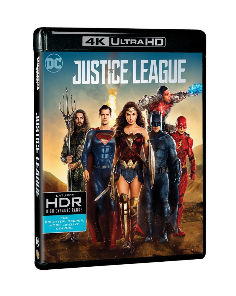 Justice League 4K Ultra HD includes Blu-ray 2D
