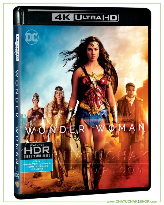 Wonder Woman 4K Ultra HD includes Blu-ray 2D
