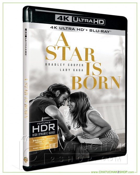 A Star Is Born 4K Ultra HD includes Blu-ray 2D