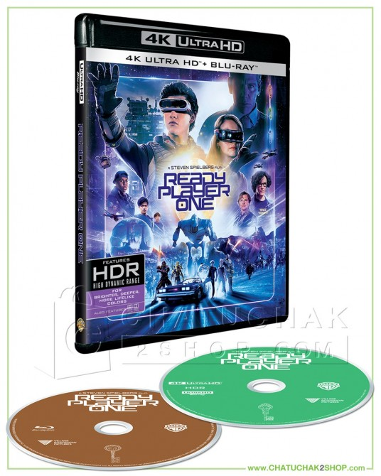 Ready Player One 4K Ultra HD includes Blu-ray 2D