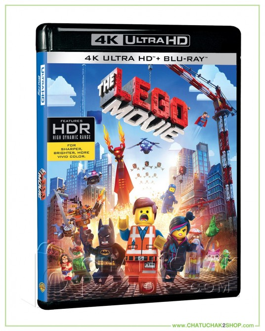 The Lego Movie 4K Ultra HD includes Blu-ray 2D