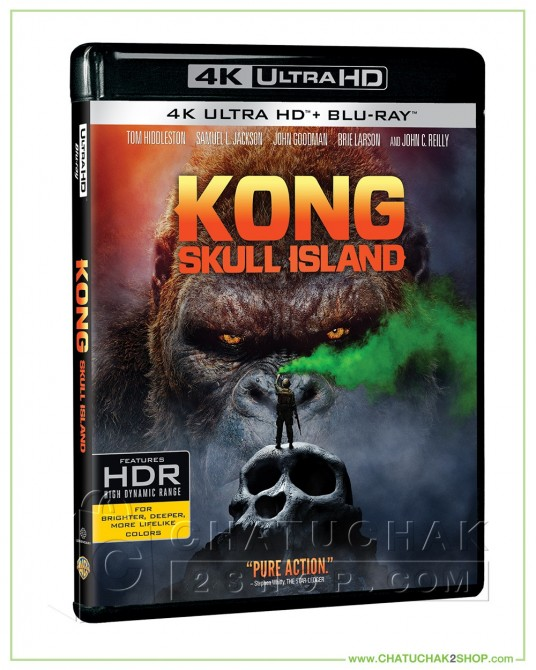 Kong: Skull Island 4K Ultra HD includes Blu-ray 2D