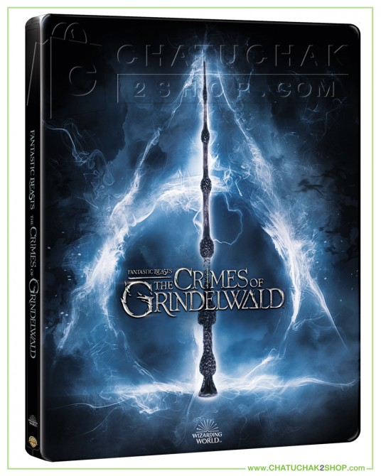 Fantastic Beasts: The Crimes of Grindelwald Blu-ray Steelbook Includes 2D & 3D แถมโปสการ์ด 1 ชุด