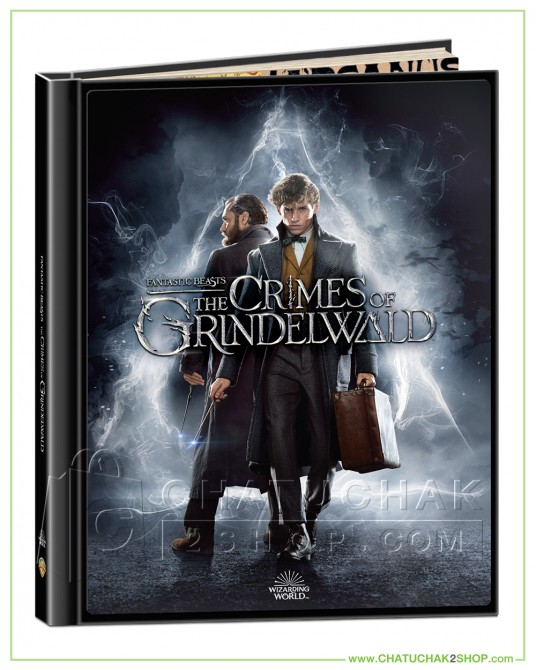 Fantastic Beasts: The Crimes of Grindelwald Blu-ray Digibook Includes 2D and 3D แถมโปสการ์ด 1 ชุด