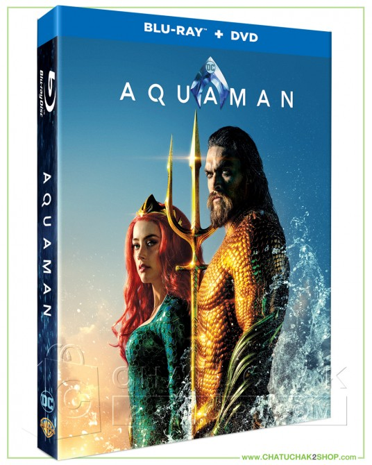 Aqauman Blu-ray Combo Set (Bluray & DVD)