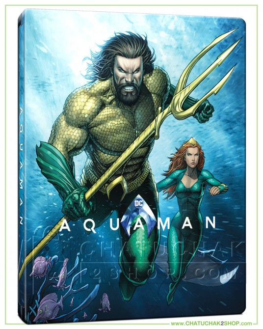 Aquaman Blu-ray Steelbook