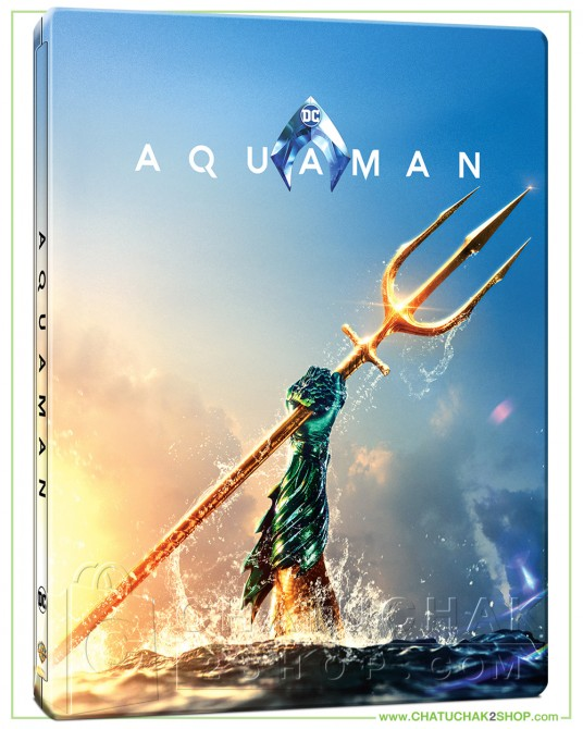 Aquaman 4K Ultra HD Steelbook includes Blu-ray 2D