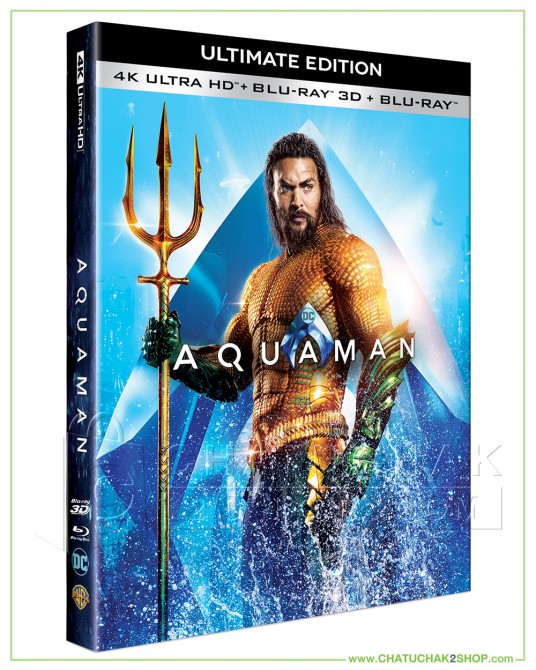 Aquaman 4K Ultra HD includes Blu-ray 3D & 2D