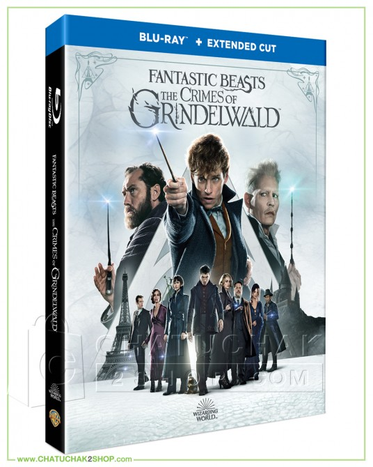 Fantastic Beasts: The Crimes of Grindelwald (Extended Cut) Blu-ray (Extended Cut) แถมโปสการ์ด 1 ชุด
