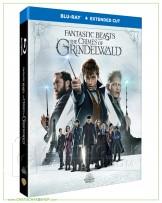 Fantastic Beasts: The Crimes of Grindelwald (Extended Cut) Blu-ray (Extended Cut) แถมโปสการ์ด 1 ชุด