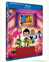 Teen Titans Go! To the Movies Blu-ray