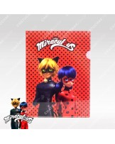 A4 Folder (Red) - Miraculous Ladybug