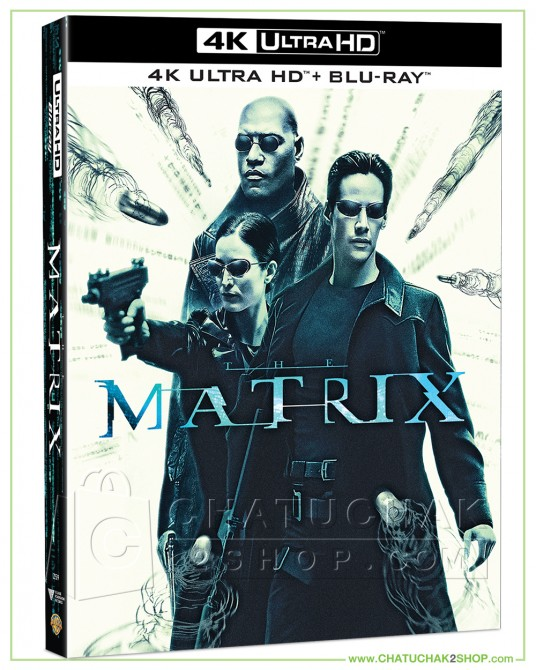 The Matrix (4K Ultra HD includes Blu-ray 2D)