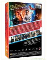 DC's Legends of Tomorrow : The Complete 2nd Season DVD Series (4 discs)