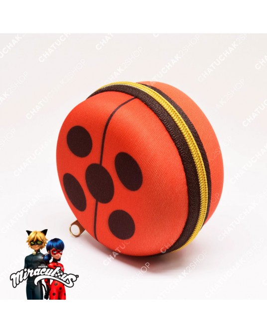 Kawaii Coin Purse (Red) - Miraculous Ladybug