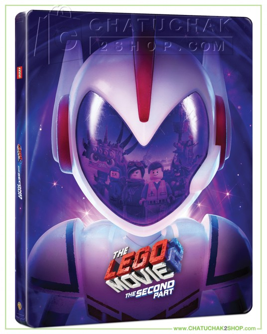 Pre-order : The Lego Movie 2: The Second Part Blu-ray Steelbook Includes 2D & 3D