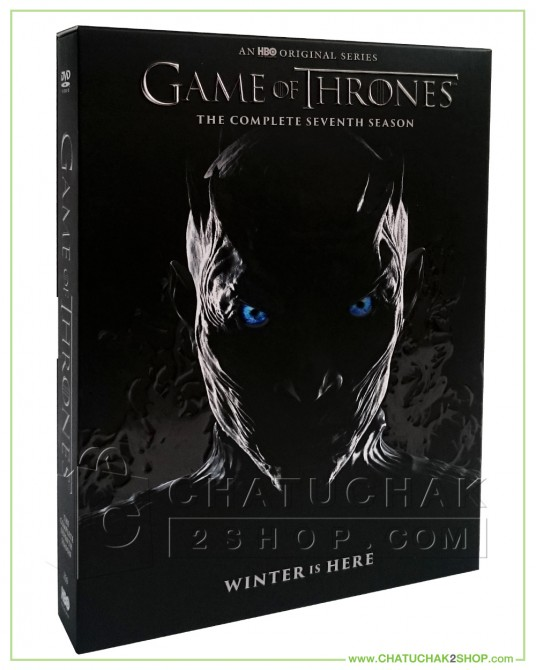 Game of Thrones: The Complete 7th Season DVD Series (4 discs)