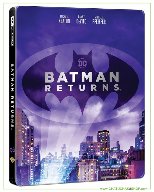 Batman Returns (1992) 4K + 2D Steelbook