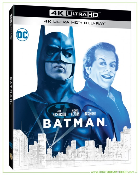 Batman (1989) 4K + 2D Steelbook (Free Post Card)