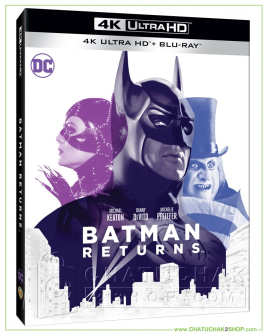 Pre-order : Batman Returns (1992) 4K + 2D Steelbook