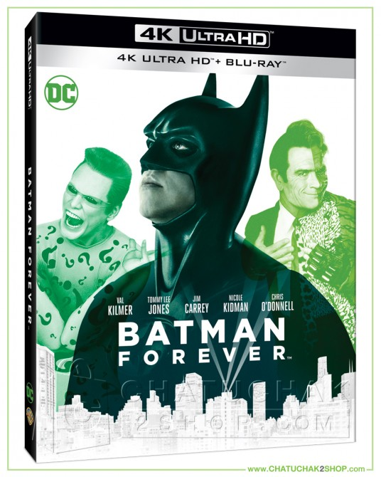 Batman Forever (1995) 4K + 2D Steelbook (Free Post Card)