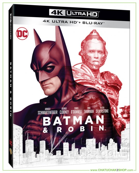 Batman & Robin (1997) 4K + 2D Steelbook (Free Post Card)