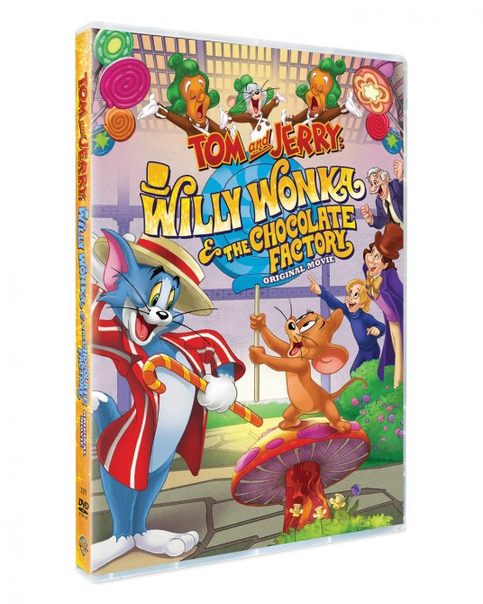 Tom & Jerry : Willy Wonka and the Chocolate Factory DVD