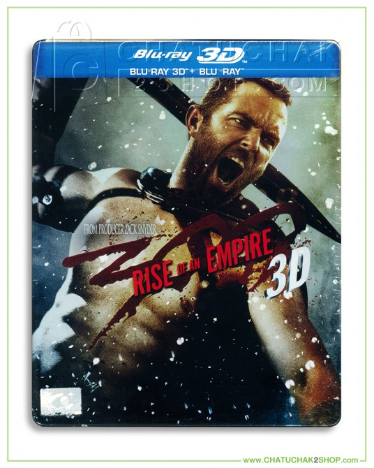 300 : Rise of an Empire 3D & 2D Blu-ray (Metal Pack)