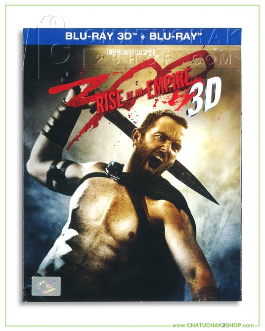 300 : Rise of an Empire 2D & 3D Blu-ray