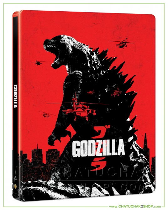 Godzilla (2014) Bluray Steelbook