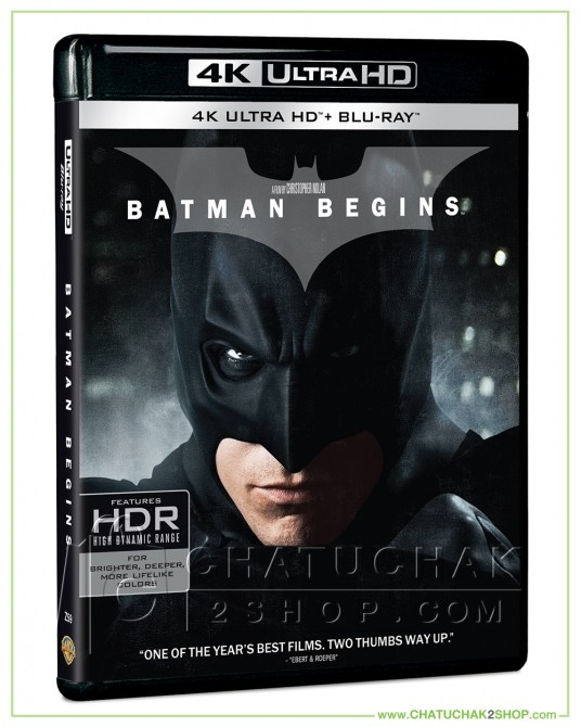 Batman Begins 4K Ultra HD + Blu-ray 2D + Blu-ray Bonus Disc