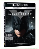 Batman Begins 4K Ultra HD + Blu-ray 2D + Blu-ray Bonus Disc