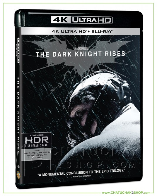 The Dark Knight Rises 4K Ultra HD + Blu-ray 2D + Blu-ray Bonus Disc