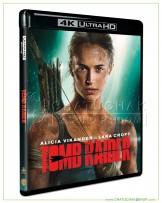 Tomb Raider Blu-ray 4K Ultra HD includes Blu-ray 2D