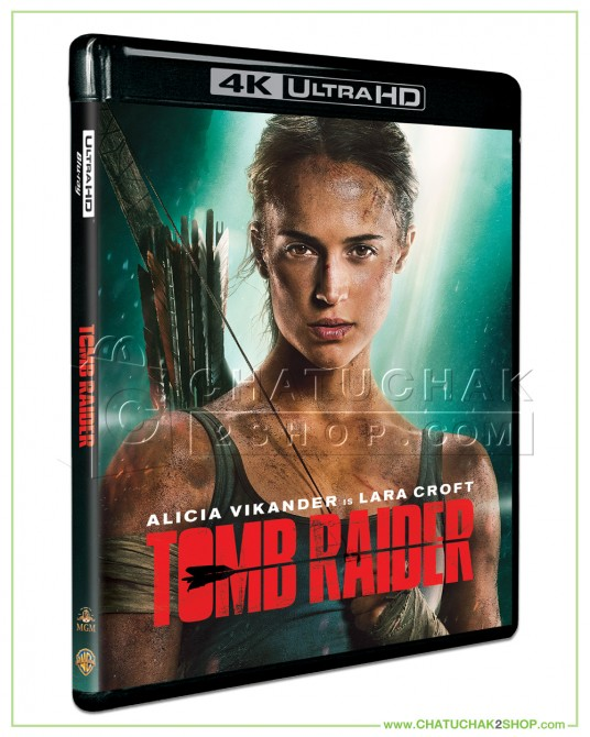 Tomb Raider Blu-ray 4K Ultra HD includes Blu-ray 2D