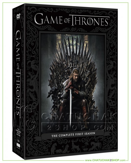 Game of Thrones: The Complete 1st Season DVD Series (5 discs)